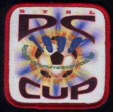 BYSL DC COMMISIONERS CUP 1999 FOOTBALL SOCCER JERSEY LOGO PATCH NEW