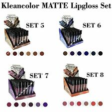All 24 PCs! Kleancolor Madly MATTE Lip gloss Set - FREE EXPEDITED SHIPPING!!