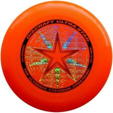 DISCRAFT ULTRASTAR 175G ULTIMATE FLYING DISC - ORANGE