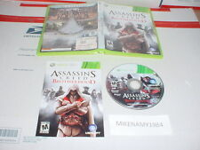 """ASSASSIN""""S CREED: BROTHERHOOD game complete w/ Manual for Microsoft XBOX 360"""