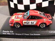 1/64 Minichamps Porsche 934 ADAC 300Km 1976 European GT 640766451