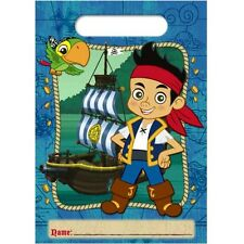 JAKE and the NEVER LAND PIRATES FAVOR BAGS (8) ~ Birthday Party Supplies Goody
