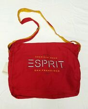 NEW Vintage Rare ESPRIT Large Gym Shoulder Tote Bag