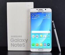 New in Box Samsung Galaxy Note5 SM-N920 - 32GB - White Pearl (AT&T) Smartphone