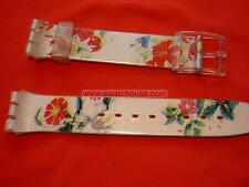 SWATCH CINTURINO ORIGINALE x Gent SPRING TOUCH - GW132 - 2002 -NUOVO  strap band