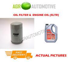 Filtro OLIO DI BENZINA + FS 5w40 Motore Olio Per Rover 218 1.8 120 CV 1999-00