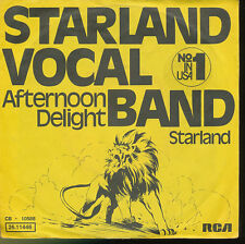 STARLAND  VOCAL BAND 45 TOURS GERMANY AFTERNOON DELIGHT
