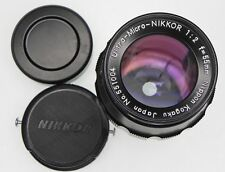 Nikon Ultra-Micro-Nikkor 55mm f2  #551004 ......... Very Rare !!