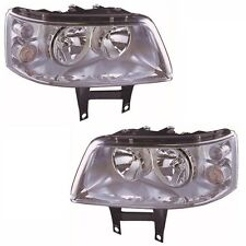 VW Transporter T5 Inc. Caravelle 2003-4/2010 Headlights Lamps 1 Pair O/S & N/S