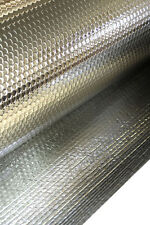 75m2 Double Foil Bubble Insulation (metallic polymer Insulation) *FREE DELIVERY*