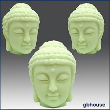 3D Silicone Candle and Soap Mold - Buddha's Head