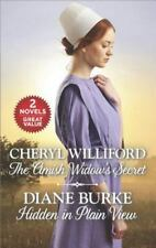 The Amish Widow's Secret and Hidden in Plain View-ExLibrary