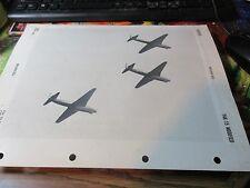 Militaria - 1950 - OPNAV 32P-1200 - Official Warplane ID - YAK-15 Modified
