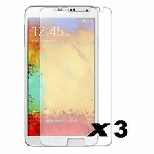 Lot 3 Films Galaxy Note 3 N9000 N9005 - Protection Ecran Samsung