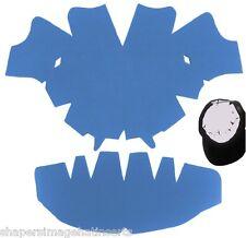 1Pk. LIGHT BLUE-LARGE Baseball Caps Crown Insert & Panel Shaper Combo| Hat Liner