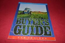 New Holland Buyers Guide For 1988 Dealers Brochure YABE10