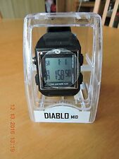 Freestyle Diablo Mid 10 lap memory black tone digital quartz watch HF-05 WR 100M