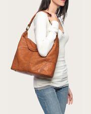 FRYE handbag tote shoulder bag Campus Hobo genuine soft leather brown purse