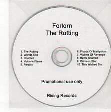 (CC700) Forlorn, The Rotting - DJ CD
