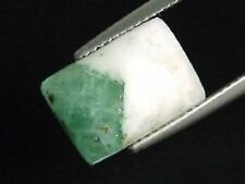 SMERALDO in quarzo/Emerald in QUARTZ 5,90 CT. a due colori Cabochon (320e)