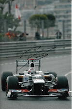 Kamui Kobayashi Hand Signed Sauber F1 Photo 12x8 12.