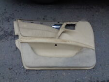 1997 MERCEDES-BENZ E420 FRONT DOOR PANEL SKIN COVER LEATHER LEFT DRIVER SIDE OEM