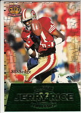 1996 PACIFIC COLLECTION JUMBO BOX CARD: JERRY RICE #GG41 49ERS/NFL CARRER LEADER