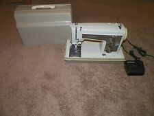 VINTAGE SEARS KENMORE MODEL 158.14301 HEAVY DUTY SEWING MACHINE - FREE SHIP