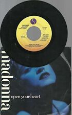 1986 Sire Records 45 Madonna OPEN YOUR HEART