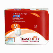 Tranquility (All-Through-the-Night) Disposable Briefs Medium Case of 96 - #2185