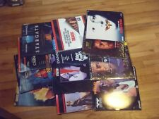 Lot of 12 LD Laserdiscs Movies Little Nemo Stargate Silence of the Lambs Fatal A