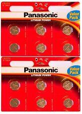 Panasonic CR2032 3 V Lithium Cell Battery (Pack of 12)