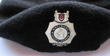 Singapore. National Cadet Corps Beret and Cap Badge Beret SAF issue