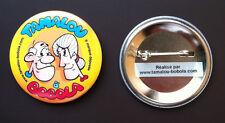 Lot 50 badges à personnaliser Ø50mm Anniversaire Soirée thème Noces fianciailles