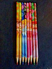 DISNEY Princess Colored Pencils Lot of 8 Cinderella Ariel Sleeping Beauty Belle