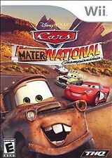 Disney Pixar Cars Mater National Championship Nintendo Wii Game Wii U Compatible