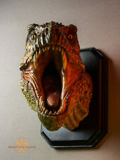 T-Rex Wall Hanging Painted Museum Edition Bust Quarantine Studio Tyrannosaurus