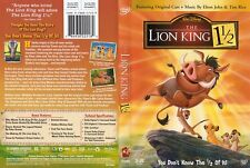 Walt Disney's The Lion King 1 1/2 2004 2-Disc DVD Set COMPLETE LikeNew Kid Movie