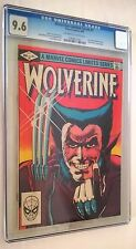 Wolverine 9/1982 limited series #1 Marvel first solo Wolverine cómic cgc 9.6
