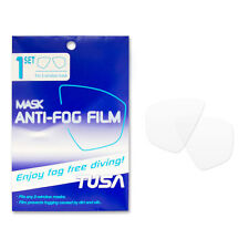 Tusa Reusable Anti-Fog Film for Scuba Diving Masks Fits any Two Window Mask