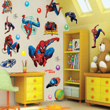 Superhéroe Spider-Man Adhesivo Pared Decoración Adhesivos para niños