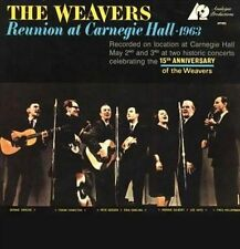 The Weavers-`Reunion At Carnegie Hall, 1963` VINYL LP NEW