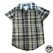 1:6 Scale Doll Plaid Shirt Ken Male Barbie Blythe Monster High Bratz Boy Liv
