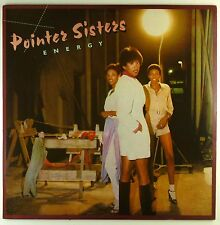 "12"" LP - Pointer Sisters - Energy - A4156 - Beiblatt - washed & cleaned"