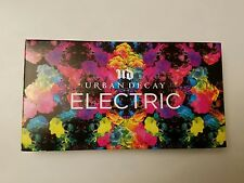Urban decay electric  pressed pigment eyeshadow palette 100%authentic +2 samples
