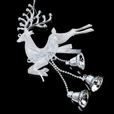 1Pc Christmas Tree Reindeer Ornaments Hanging Xmas Baubles Party Decoration