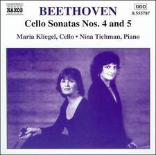 Beethoven: Cello Sonatas Nos. 4 & 5, New Music