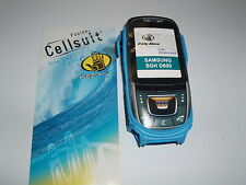 NEW Blue Body Glove Mobile Phone Case Cover For Samsung D600