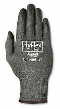 Ansell 11-801 HyFlex Nylon Gloves,Black Foam Nitrile Coating,Size 9 (Pack of 12)