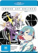 Sword Art Online 2 Part 1 Blu-ray Discs NEW